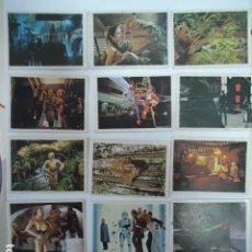 Coleccionismo Cromos antiguos: 14 CROMOS EL RETORNO DE JEDI - STAR WARS - PACOSA DOS - 1983 SIN PEGAR. Lote 123546743
