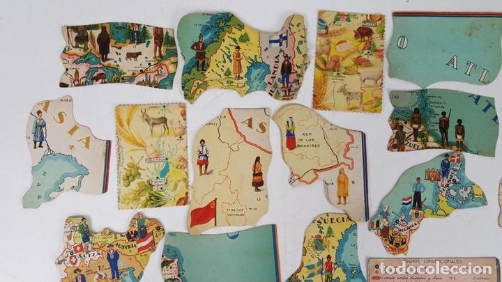 Coleccionismo Cromos antiguos: COLECCIÓN DE 43 CROMOS. CHOCOLATES SAN FERNANDO Y CHOCOLATES JAUME BOIX. CIRCA 1940. - Foto 2 - 124701107