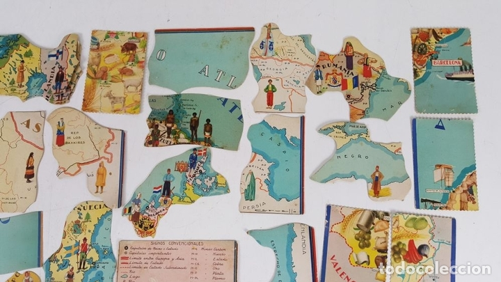 Coleccionismo Cromos antiguos: COLECCIÓN DE 43 CROMOS. CHOCOLATES SAN FERNANDO Y CHOCOLATES JAUME BOIX. CIRCA 1940. - Foto 3 - 124701107