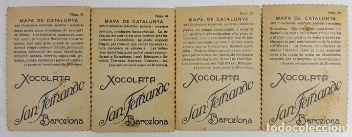 Coleccionismo Cromos antiguos: COLECCIÓN DE 43 CROMOS. CHOCOLATES SAN FERNANDO Y CHOCOLATES JAUME BOIX. CIRCA 1940. - Foto 6 - 124701107