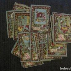 Coleccionismo Cromos antiguos: EL CID CAMPEADOR-COLECCION INCOMPLETA 27 CROMOS ANTIGUOS FALTAN 3-MUY RARA -VER FOTOS-(V-14.848). Lote 125832887