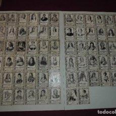 Coleccionismo Cromos antiguos: MAGNIFICA COLECCION DE 68 CROMOS DE FOTOPIAS DE CAJAS DE CERILLAS,SERIE 19 PRINCESAS. Lote 126112511