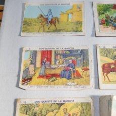Coleccionismo Cromos antiguos: CROMOS DE DON QUIJOTE DE LA MANCHA PUBLICIDAD DE CHOCOLATES. Lote 126678908