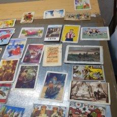 Coleccionismo Cromos antiguos: LOTE 47 CROMOS ANTIGUOS DE PUBLICIDAD CHOCOLATES ALGÚNOS MUY RAROS. Lote 126681248