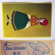 Coleccionismo Cromos antiguos: CROMO DE DON QUIJOTE DE LA MANCHA Nº49 DEL ALBUM,DON QUIJOTE DE LA MANCHA, NUNCA PEGADO. Lote 126830459