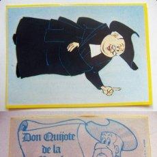 Coleccionismo Cromos antiguos: CROMO DE DON QUIJOTE DE LA MANCHA Nº51 DEL ALBUM,DON QUIJOTE DE LA MANCHA, NUNCA PEGADO. Lote 126830471