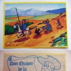 Coleccionismo Cromos antiguos: CROMO DE DON QUIJOTE DE LA MANCHA Nº58 DEL ALBUM,DON QUIJOTE DE LA MANCHA, NUNCA PEGADO. Lote 126830531