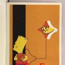 Coleccionismo Cromos antiguos: CROMOS LOS SIMPSONS 1999 - PANINI - Nº 007. Lote 126999279