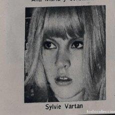 Coleccionismo Cromos antiguos: SYLVIE VARTAN . Lote 127460283