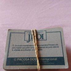Coleccionismo Cromos antiguos: CROMOS EL RETORNO DEL JEDI. Lote 127506219