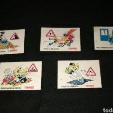 Coleccionismo Cromos antiguos: 5 CROMOS MOTORS BIMBO !! ^_^. Lote 127681852