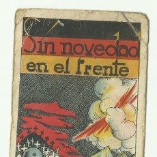 Coleccionismo Cromos antiguos: CROMO N1 SIN NOVEDAD EN EL FRENTE. SIN PUBLICIDAD. Lote 127749583
