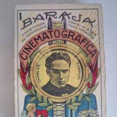 Coleccionismo Cromos antiguos: COLECCIÓN COMPLETA 48 CROMOS CHOCOLATE BOIX BARAJA CINEMATOGRÁFICA CHARLOT. Lote 128244679