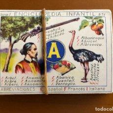 Coleccionismo Cromos antiguos: ENCICLOPEDIA INFANTIL COMPLETA 30 CROMOS . Lote 128451295