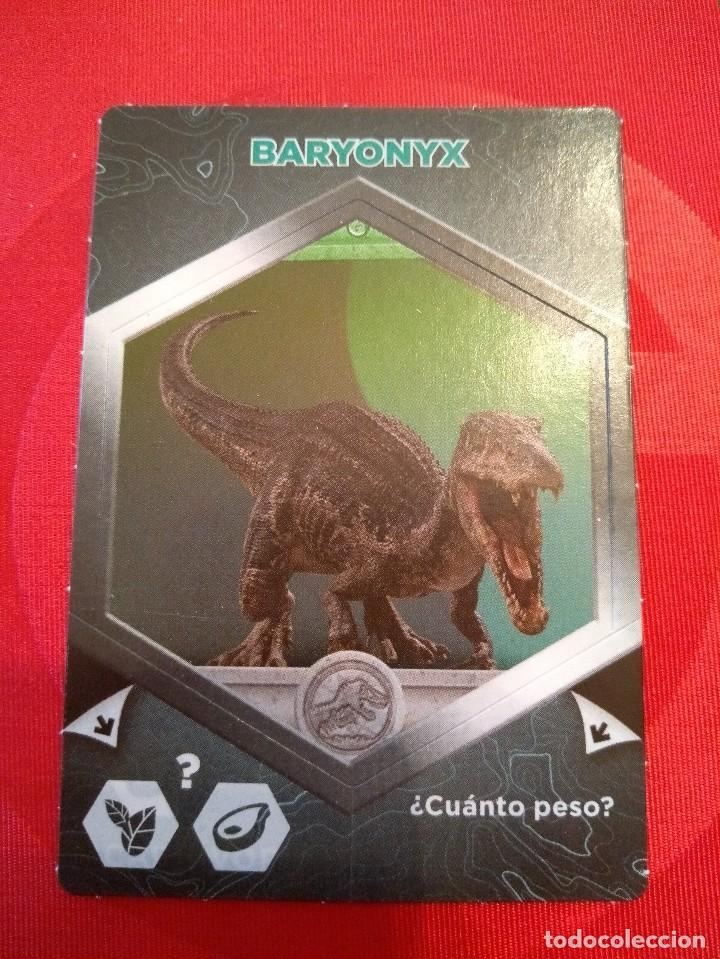BARYONYX - Nº 21/64 - JURASSIC WORLD - DIANOSAURIOS - SUPERMERCADOS DIA (Coleccionismo - Cromos y Álbumes - Cromos Antiguos)