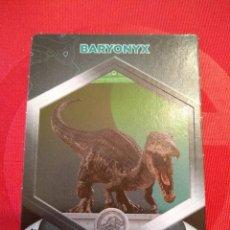 Coleccionismo Cromos antiguos: BARYONYX - Nº 21/64 - JURASSIC WORLD - DIANOSAURIOS - SUPERMERCADOS DIA. Lote 128479855