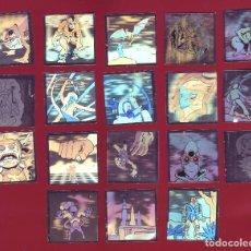 Coleccionismo Cromos antiguos: BOLLYCAO - HOLOGRAMAS DEL ESPACIO - 18 CROMOS. Lote 129155243