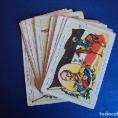 Coleccionismo Cromos antiguos: (CHO-479)COLECCION DE 24 CROMOS SERIE A COMPLETA-LOS HEROES DE LA GUERRA EUROPEA-CHOCOLATE PI. Lote 129643719