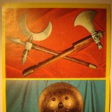Coleccionismo Cromos antiguos: CROMO ALBUM HISTORIA DE LAS ARMAS DE EDITORIAL ESTE NÚMERO 4 (RECUPERADO). Lote 130130615