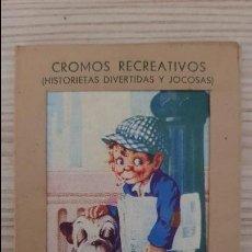 Coleccionismo Cromos antiguos: CROMOS RECREATIVOS. HISTORIETAS DIVERTIDAS Y JOCOSAS. EL DETECTIVE BOBBY Y CAÑETE CLORATO Y SU FIEL . Lote 130557434