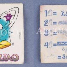 Coleccionismo Cromos antiguos: CROMO MICO - TAS LIAO - EL DE LAS FOTOS. Lote 130931508