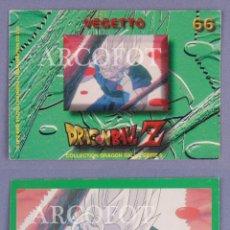 Coleccionismo Cromos antiguos: CROMO DRAGONBALL Z Nº 66 VEGETTO - EL DE LAS FOTOS. Lote 130931708
