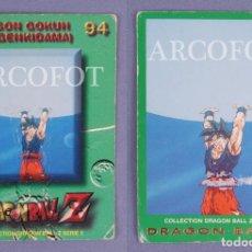 Coleccionismo Cromos antiguos: CROMO DRAGONBALL Z Nº 94 SON GOKUH (GENKIDAMA) - EL DE LAS FOTOS. Lote 130931860