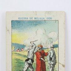Coleccionismo Cromos antiguos: ANTIGUO CROMO DE CHOCOLATE ORPINELL - GUERRA DE MELILLA 1909 Nº 11 - VENDRELL - AÑOS 20. Lote 130977649
