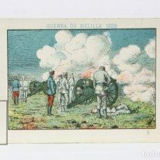 Coleccionismo Cromos antiguos: ANTIGUO CROMO DE CHOCOLATE ORPINELL - GUERRA DE MELILLA 1909 Nº 5 - VENDRELL - AÑOS 20. Lote 130977729
