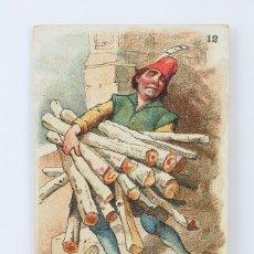 Coleccionismo Cromos antiguos: ANTIGUO CROMO DE CHOCOLATE AMATLLER - PROVERBIOS EN ACCIÓN. 12 - ILUS. APELES MESTRES. Lote 130977909