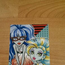 Coleccionismo Cromos antiguos: POSTAL MONSTER HIGH Nº 70 GHOULIA YELPS Y LAGOONA BLUE. Lote 131055544