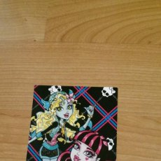 Coleccionismo Cromos antiguos: POSTAL MONSTER HIGH Nº 72 LAGOONA BLUE Y DRACULAURA. Lote 131055588
