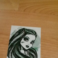Coleccionismo Cromos antiguos: POSTAL MONSTER HIGH Nº 79 FRANKIE STEIN. Lote 131055912