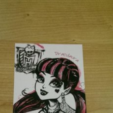 Coleccionismo Cromos antiguos: POSTAL MONSTER HIGH Nº 80 DRACULAURA. Lote 131055952
