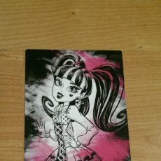 Coleccionismo Cromos antiguos: POSTAL MONSTER HIGH Nº 86 DRACULAURA. Lote 131056100