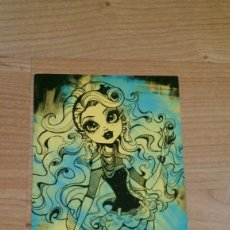 Coleccionismo Cromos antiguos: POSTAL MONSTER HIGH Nº 88 LAGOONA BLUE. Lote 131056152