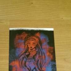 Coleccionismo Cromos antiguos: POSTAL MONSTER HIGH Nº 89 GHOULIA YELPS. Lote 131056204