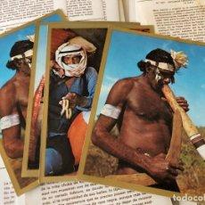 Coleccionismo Cromos antiguos: MUNDIAL RAZAS-BANDERAS-ESCUDOS 48 CROMOS NUEVOS DIFERENTES SE PUEDE LLEGAR A VENDER SUELTOS. Lote 131241123