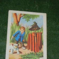 Coleccionismo Cromos antiguos: CROMO EL DETECTIVE BOBBY. Nº 17. CHOCOLATES AMATLLER. Lote 131611526