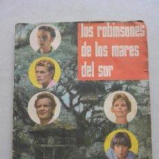Coleccionismo Cromos antiguos: LOTE 100 CROMOS LOS ROBINSONES MARES SUR. SE VENDEN SUELTOS. 1 EURO UNIDAD. Lote 132083126