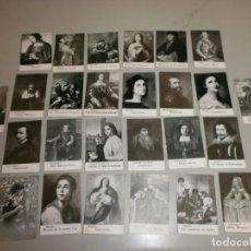 Coleccionismo Cromos antiguos: LOTE DE CROMOS CHOCOLATE AMATLLER BARCELONA. Lote 132162734