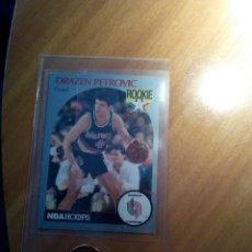 Coleccionismo Cromos antiguos: CROMO DRAZEN PETROVIC,1990,NBA DE ROOKIE,1ER AÑO EN USA. Lote 132220850
