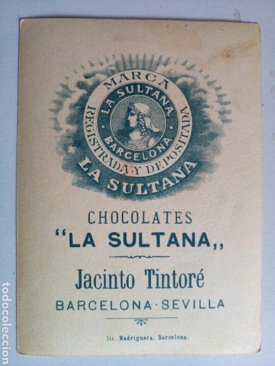LOTE DE 19 ANTIGUOS CROMOS CHOCOLATE LA SULTANA (Coleccionismo - Cromos y Álbumes - Cromos Antiguos)