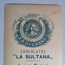 Coleccionismo Cromos antiguos: LOTE DE 19 ANTIGUOS CROMOS CHOCOLATE LA SULTANA. Lote 132303009