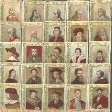 Coleccionismo Cromos antiguos: 74 FOTOTÍPIAS/CROMOS DE CAJAS DE CERILLAS-PRINCIPIO SIGLO XX-SERIE 20-FALTA EL Nº 28. Lote 132489754