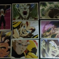Collectable Antique Stickers - Lote 8 cromos Dragon Ball GT Premium - 132513646