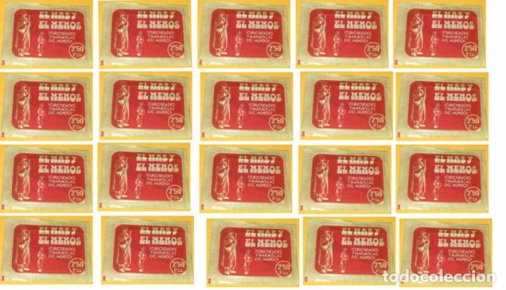 EL MAS Y EL MENOS ANTIGUO LOTE DE 20 SOBRES DE CROMOS RUIZ ROMERO SIN ABRIR (Coleccionismo - Cromos y Álbumes - Cromos Antiguos)