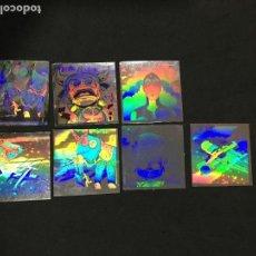 Coleccionismo Cromos antiguos: LOTE 7 CROMOS BOLLYCAO HOLOGRAMAS DEL ESPACIO. Lote 132875318