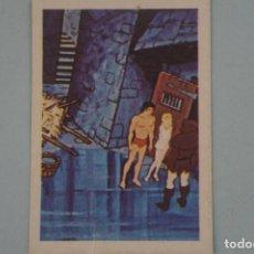 Coleccionismo Cromos antiguos: CROMO DE TARZAN DESPEGADO Nº 33 AÑO 1979 DEL ÁLBUM TARZAN DE FHER . Lote 133089870