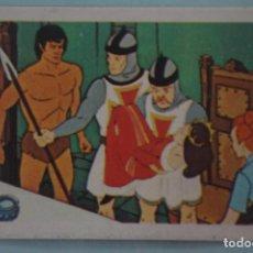 Coleccionismo Cromos antiguos: CROMO DE TARZAN DESPEGADO Nº 72 AÑO 1979 DEL ÁLBUM TARZAN DE FHER . Lote 133091398